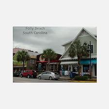 Folly Beach Strip Rectangle Magnet