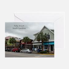 Folly Beach Strip Greeting Card