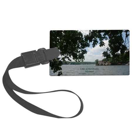 Ozarks Large Luggage Tag