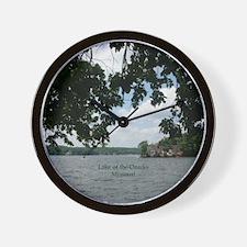 Ozarks Wall Clock