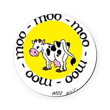 moo_with_me_moon Cork Coaster