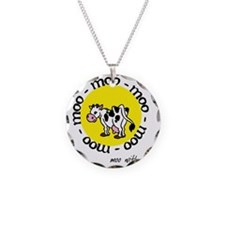 moo_with_me_moon Necklace Circle Charm