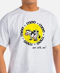 moo_with_me_moon T-Shirt