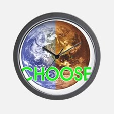 10x10_choose_lite Wall Clock