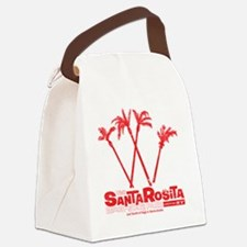 SantaRosita_Red Canvas Lunch Bag