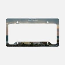 Folly Beach Pastel License Plate Holder