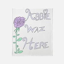 Abbie Hoodie Back Throw Blanket