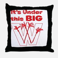 BigW Throw Pillow