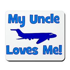 myunclelovesme_airplane Mousepad