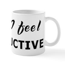 Today I feel instructive Mug
