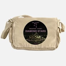 Diamond Stars -Dec. 5, 2010 Singapor Messenger Bag