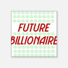 """billionaire01 Square Sticker 3"""" x 3"""""""