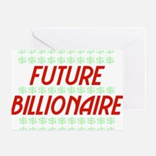 billionaire01 Greeting Card