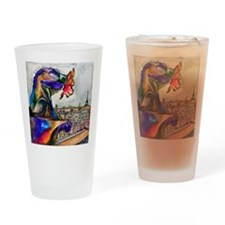 Gargoyle of Color Drinking Glass