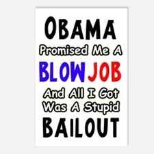 bailout Postcards (Package of 8)