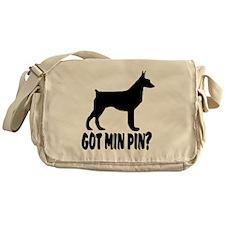 Got Min Pin Messenger Bag