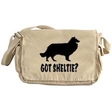 Got Sheltie Messenger Bag