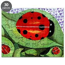 Ladybug mouse pad Puzzle