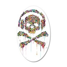 DRIPPING-SKULL-FINAL-1a-2 Wall Decal