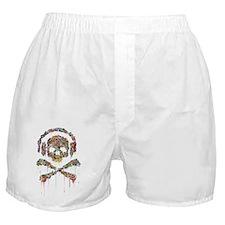 DRIPPING-SKULL-FINAL-1a-2 Boxer Shorts