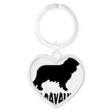 Got Cavalier Heart Keychain