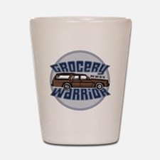 grocery warrior dk Shot Glass