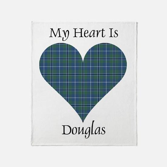 Heart - Douglas Throw Blanket