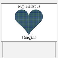 Heart - Douglas Yard Sign