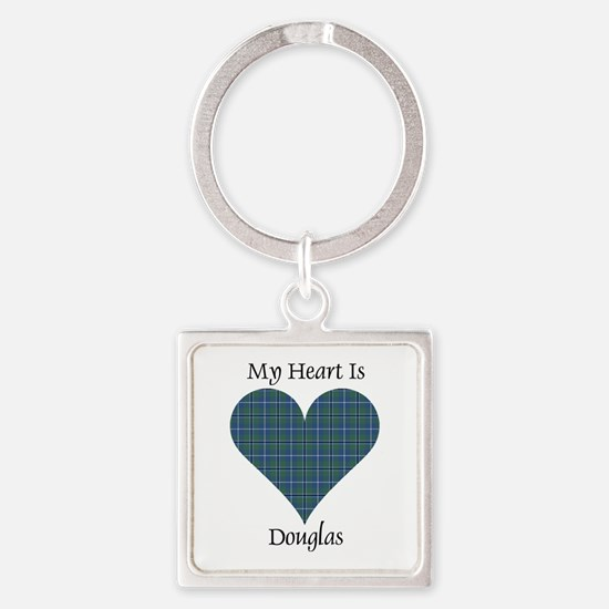 Heart - Douglas Square Keychain