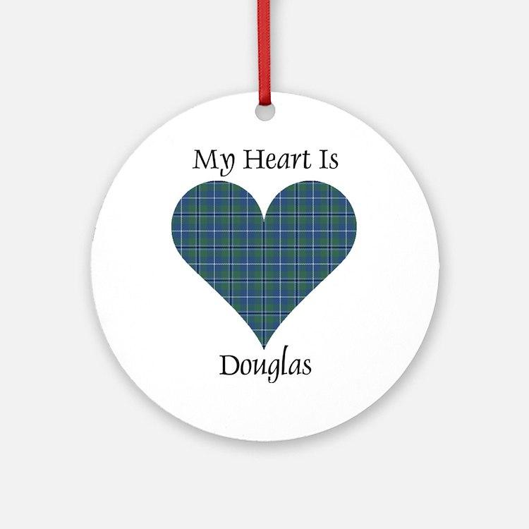 Heart - Douglas Ornament (Round)