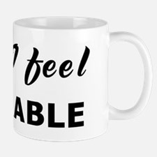 Today I feel miserable Mug