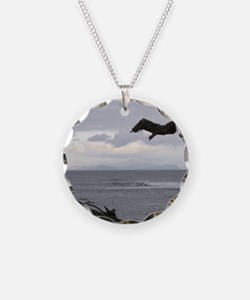 Oahu from Molokai Necklace