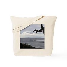Oahu from Molokai Tote Bag