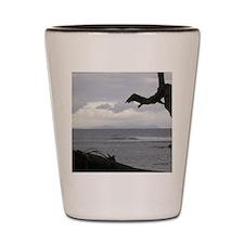 Oahu from Molokai Shot Glass