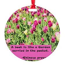 AmyArt2pink copy Ornament