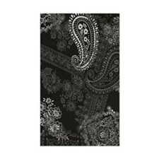 Black Paisley Journal Decal