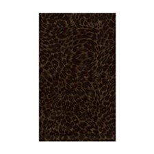 Dark Animal Print Journal Decal