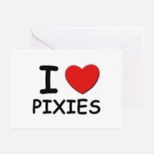 I love pixies Greeting Cards (Pk of 10)