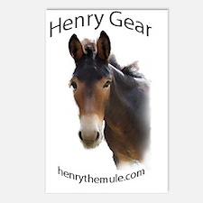 henrygear_pocket Postcards (Package of 8)