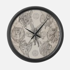 7Angels10x10 Large Wall Clock