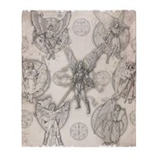 7Angels10x10 Throw Blanket