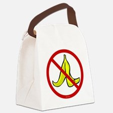 no_banana_peels Canvas Lunch Bag