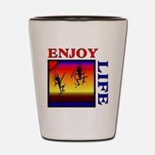 enjoy life Shot Glass