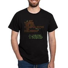 10x10 No Compulsion Brown and Green T-Shirt