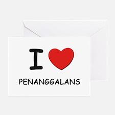 I love penanggalans Greeting Cards (Pk of 10)