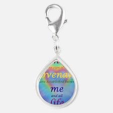 2-covenant Silver Teardrop Charm