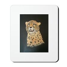 cheetah painting Mousepad