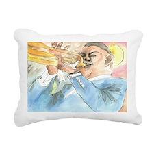 satchmo Rectangular Canvas Pillow