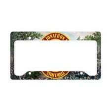 Jackson (battle) License Plate Holder