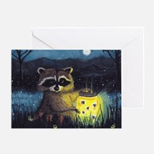 Collection of Fireflies Greeting Card